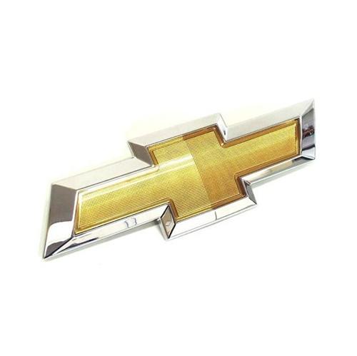 Emblema Dianteiro Gravata Dourada da Grade Sonic