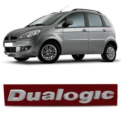 Emblema Dualogic do Paralama - Linea Idea Grand Siena Punto Bravo Palio 500 Stilo Strada Uno