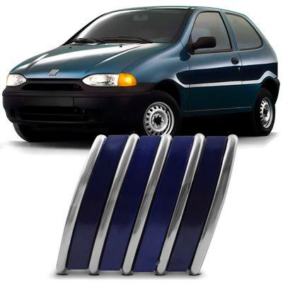 Emblema Fiat Azul do Capô Palio Siena Strada Weekend 1996 a 2000 Uno Smart 2000 2001