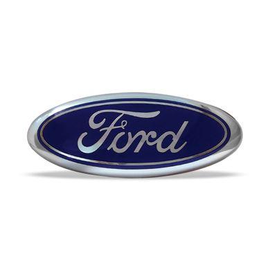 Emblema Ford da Grade Dianteira Focus 2000 a 2008