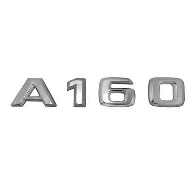 Emblema Letreiro Cromado - A160 - para Mercedes-Benz Classe a 160 1999 a 2005