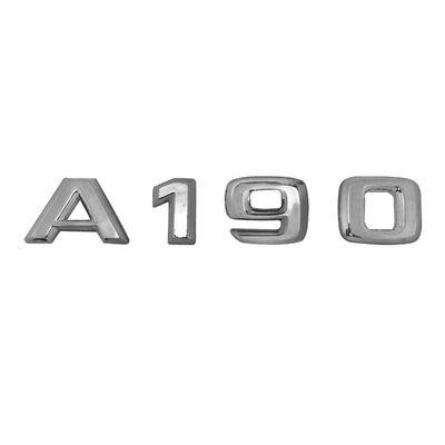 Emblema Letreiro Cromado - A190 - para Mercedes-Benz Classe a 190 1999 a 2005