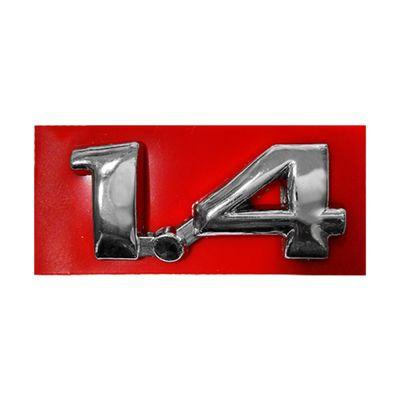 Emblema Letreiro do Porta Malas 1.4 Linha Gm Corsa Celta Cromado Novo