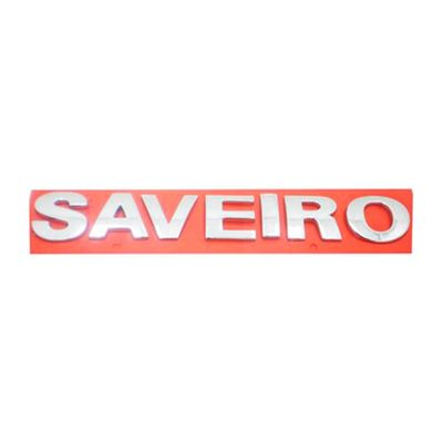Emblema Letreiro SAVEIRO Cromado - Saveiro G3 G4 2000 a 2012