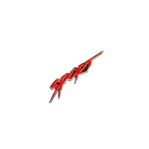 Emblema Sport Vermelho da Lateral Porta Resinado 94755805 Montana