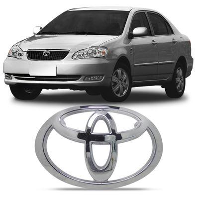 Emblema Toyota da Grade Dianteira Corolla e Fielder 2003 2004 2005 2006 2007 2008