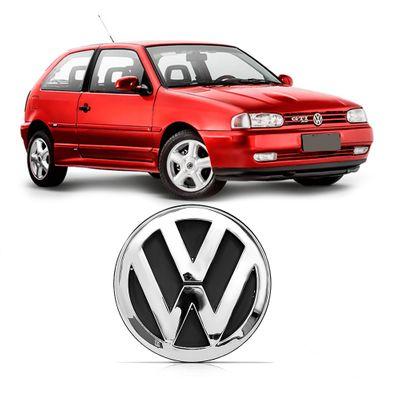 Emblema Volkswagen do Porta-Malas Gol G2 1995 a 2003 Cromado