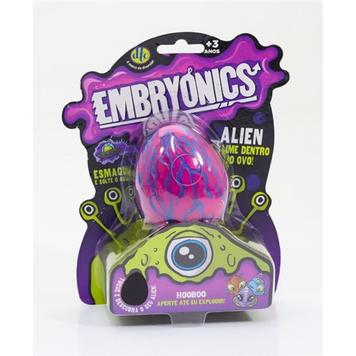 Embryonics - Alien com Slime - Hooboo - Dtc - DTC