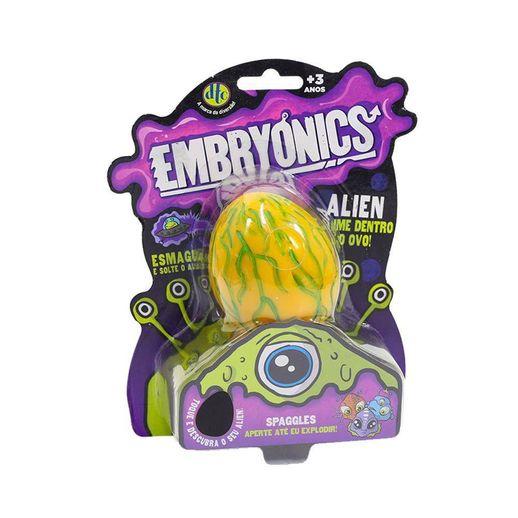 Embryonics Alien com Slime Spaggles - DTC