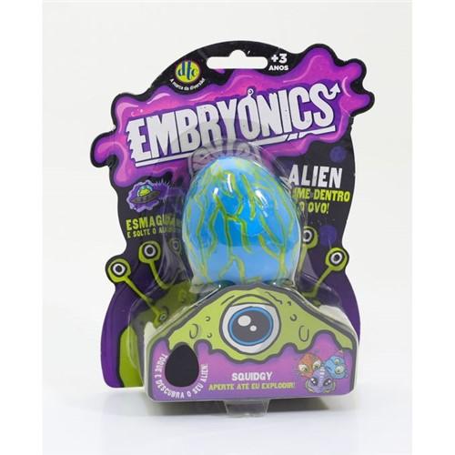 Embryonics - Alien com Slime - Squidgy - Dtc - DTC