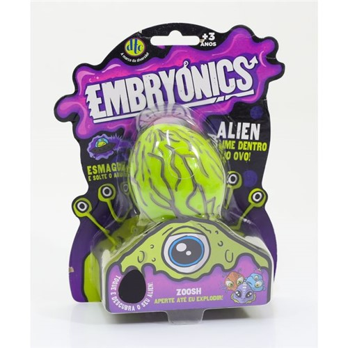Embryonics - Alien com Slime - Zoosh - Dtc - DTC