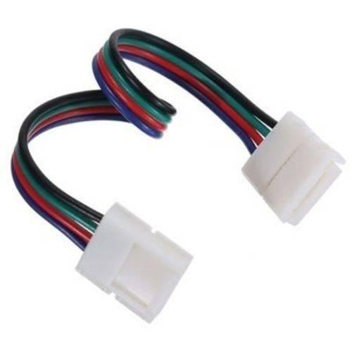 Emenda Rápida para Fita de Led Rgb 3528-5050-10mm Conector