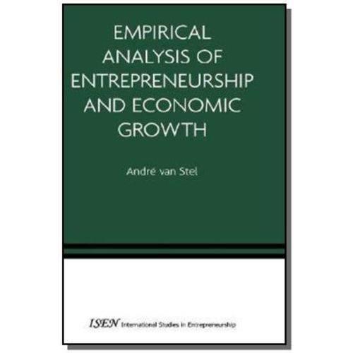 Empirical Analysis Of Entrepreneurship And Econo01