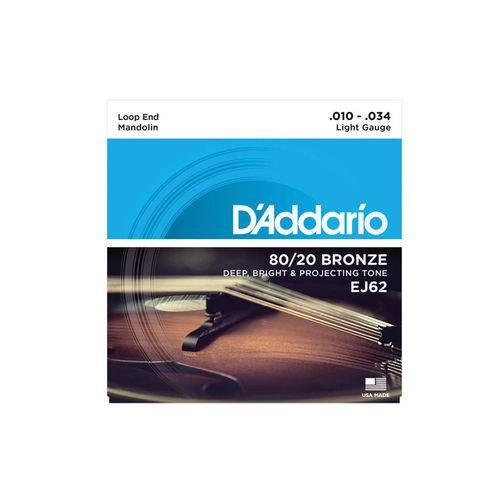 Enc Bandolin D Addario Ej62 80/20