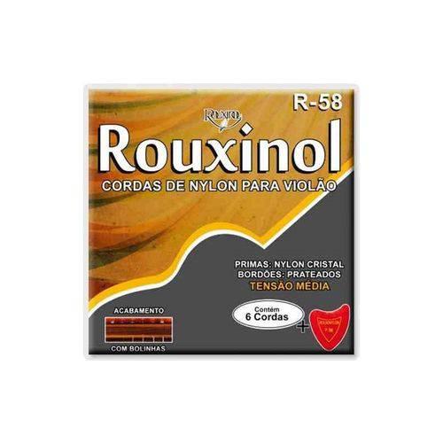 Enc Violao Ny Rouxinol R 58 C/Bolinha
