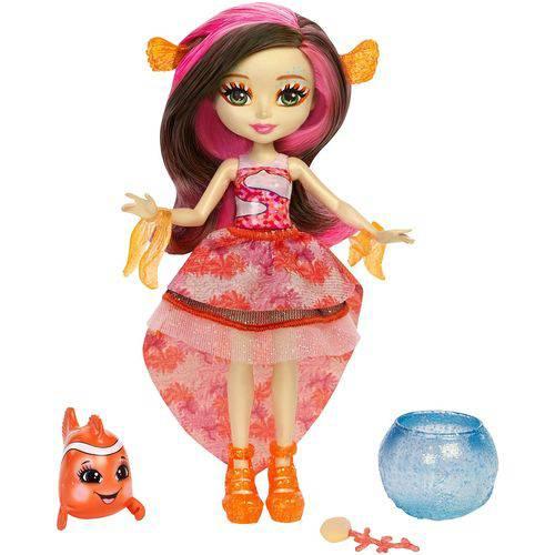 Enchantimals Beleza - Clarita Clownfish e Cackle - Mattel