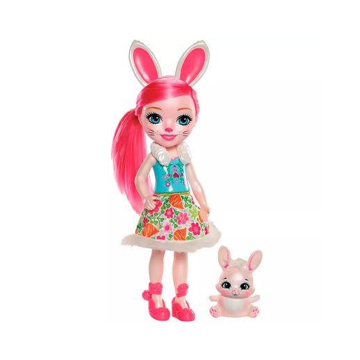 Enchantimals Boneca Articulada Bree Bunny 30 Cm - Mattel