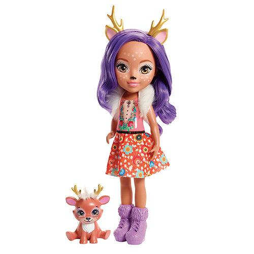 Enchantimals Boneca Articulada Danessa Deer 30 Cm - Mattel