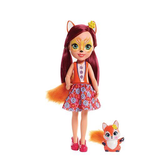 Enchantimals Boneca Articulada Felicity Fox 30 Cm - Mattel
