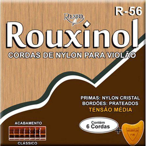 Encord. Violao Tensao Media Nylon R56 Rouxinol