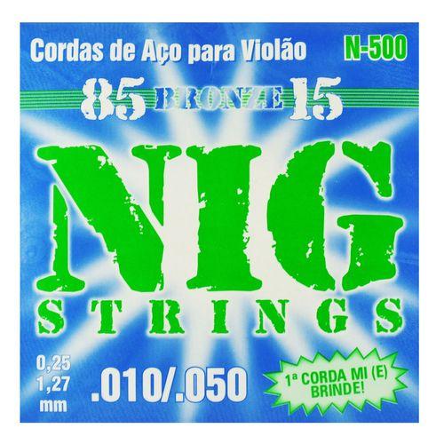 Encordoamento Aço para Violão com Bolinha R .010-.050 - Rouxinol