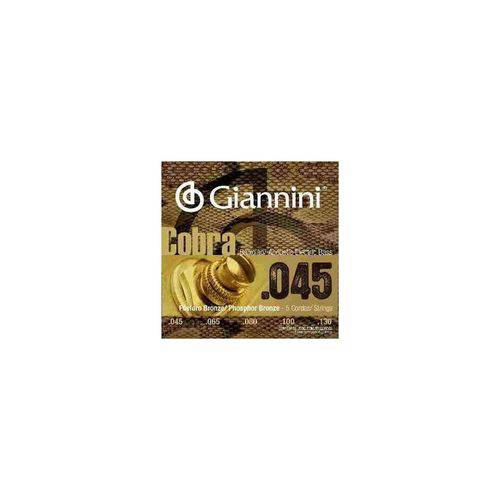 Encordoamento Baixolão 5c Giannini Geebasf5 0.45