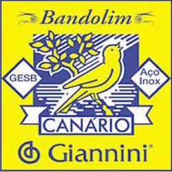 Encordoamento Canário P/ Bandolim C/ Chenilha GESB - Giannini