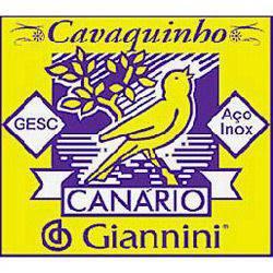Encordoamento Canário P/ Cavaquinho C/ Chenilha GESC - Giannini