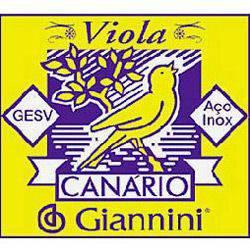 Encordoamento Canário para Viola com Chenilha GESW - Giannini