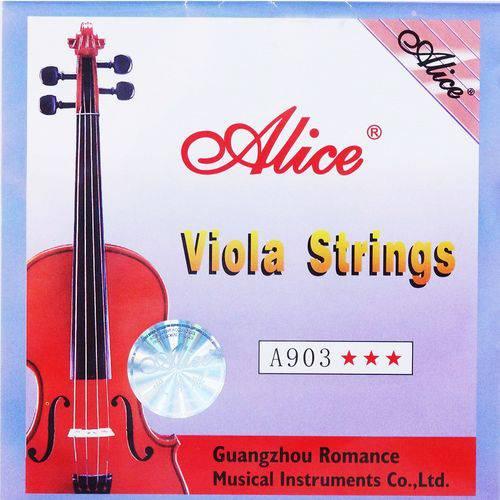 Encordoamento Completo para Viola de Arco Alice A903