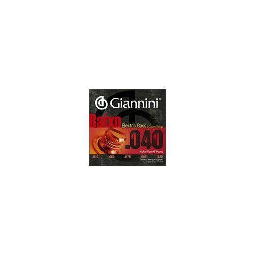 Encordoamento Contrabaixo 5c Giannini Geebrs5 045