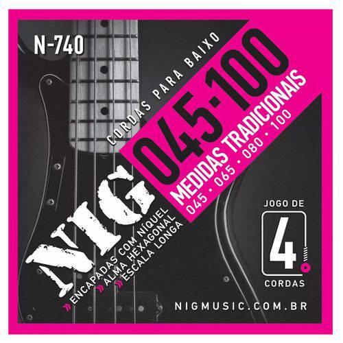 Encordoamento Contrabaixo Nig N740 045 - 4 C