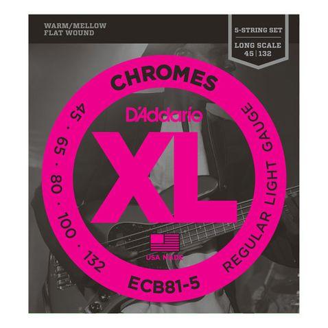 Encordoamento D Addario Ecb81-5c 045 Chromes Unico