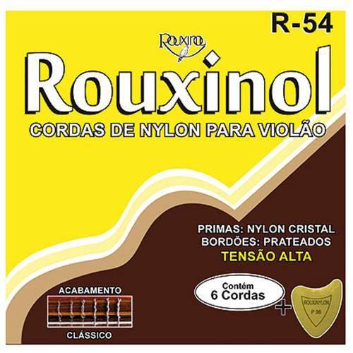 Encordoamento em Nylon Cristal para Violão R54 Rouxinol