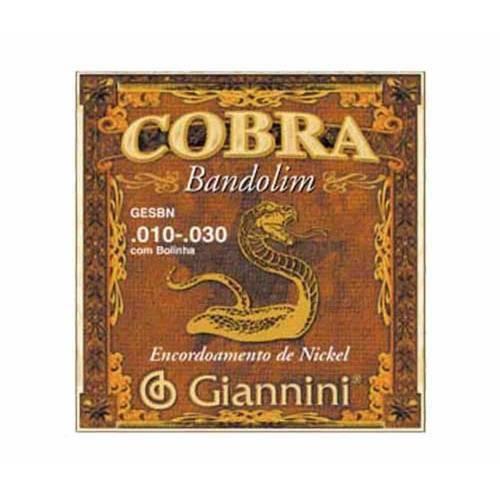 Encordoamento Giannini para Bandolim Cobra