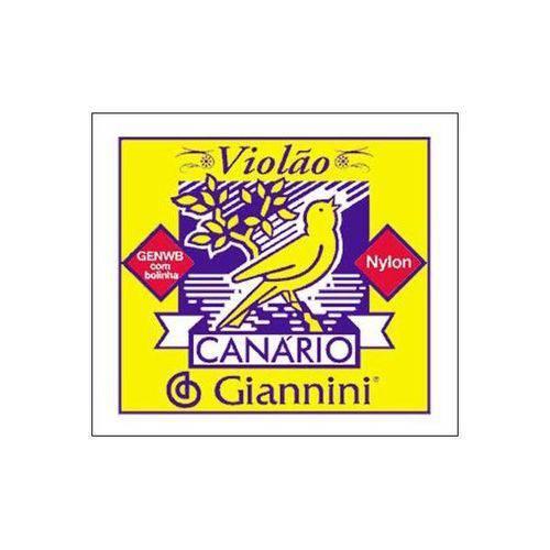 Encordoamento Giannini para Violão Nylon com Bolinha Genwb