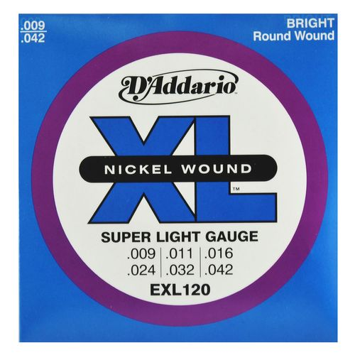 Encordoamento Guitarra .009-.042 - D'addario