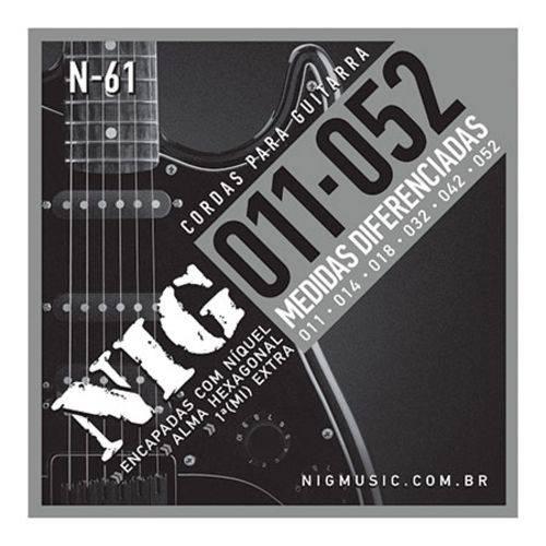 Encordoamento Guitarra 011/052 Tradicional N61
