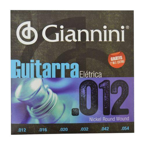 Encordoamento Guitarra Elétrica - Giannini