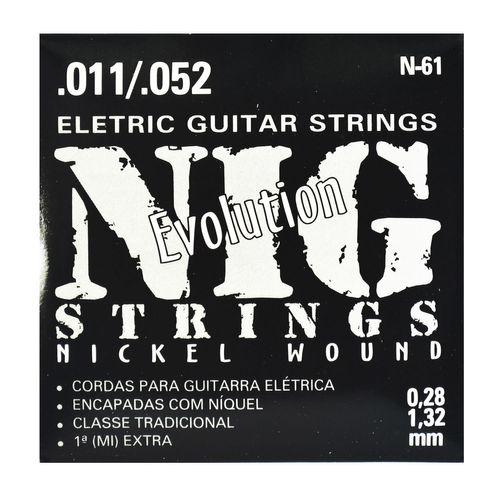 Encordoamento Guitarra Evolution .011-.052 - Rouxinol
