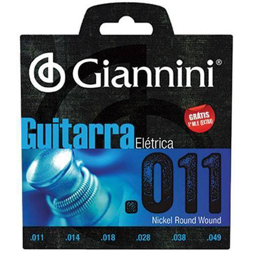 Encordoamento Guitarra Geegst-10 Giannini