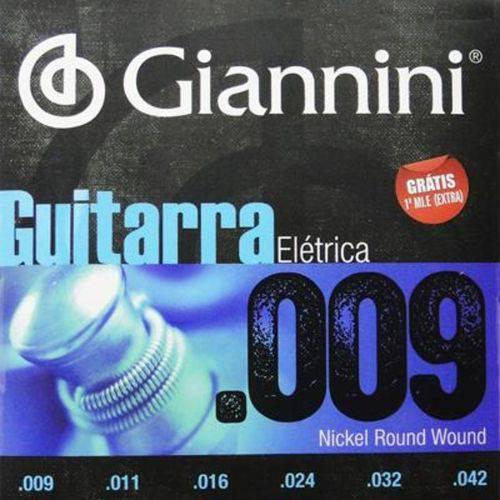 Encordoamento Guitarra Giannini Geegst 009