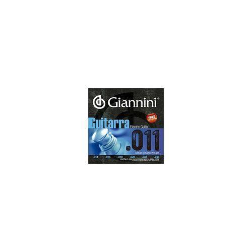 Encordoamento Guitarra Giannini Geegst 011