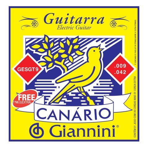Encordoamento Guitarra Giannini Gesgt 009-042
