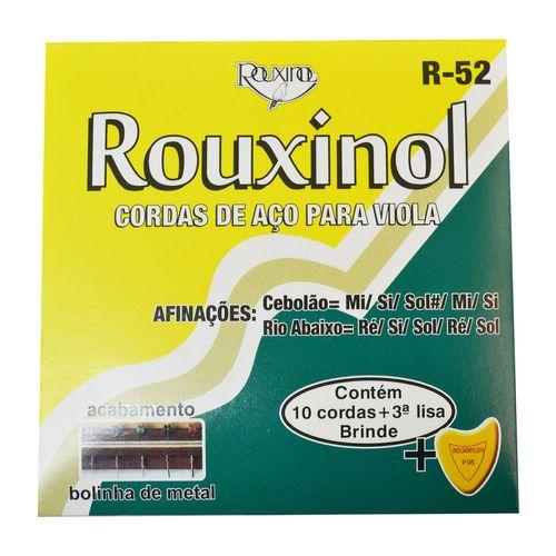 Encordoamento Inox para Viola com Bolinha - Rouxinol