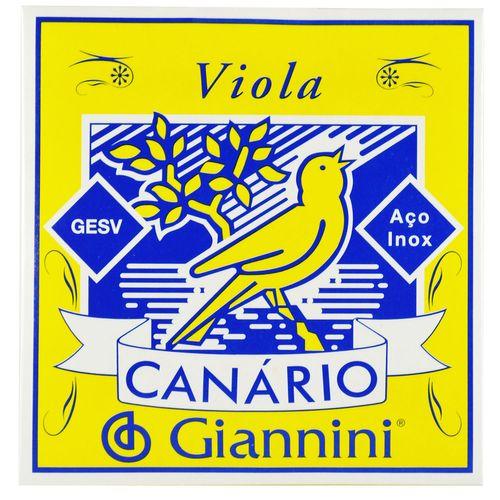 Encordoamento Inox para Viola com Chenilha - Giannini