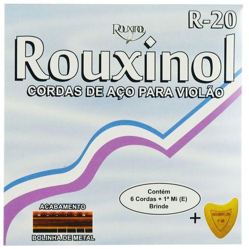 Encordoamento Inox para Violão com Bolinha - Rouxinol