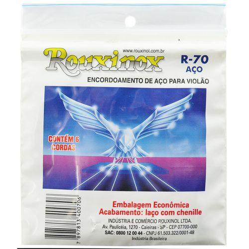 Encordoamento Inox para Violão - Rouxinol