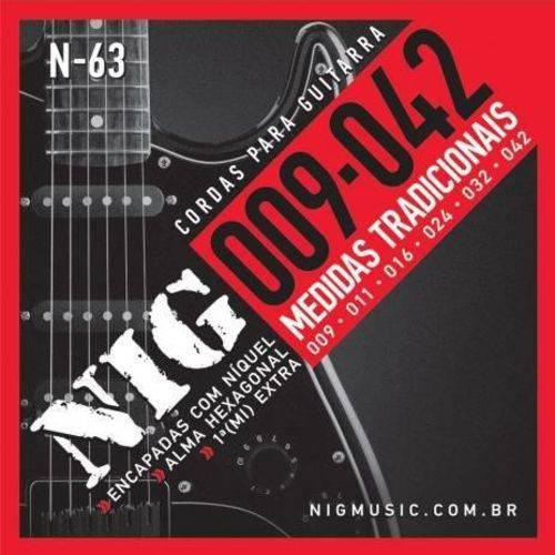 Encordoamento NIG Guitarra 009 - 042 N63