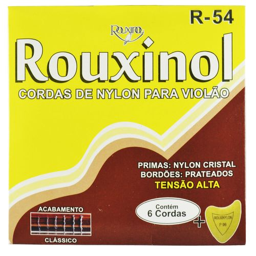 Encordoamento Nylon Cristal para Violão - Rouxinol
